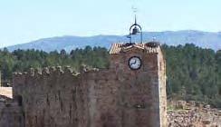 Torre del reloj Buitrago del Lozoya