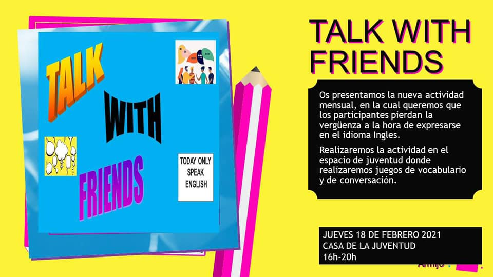 Actividad talk with friends