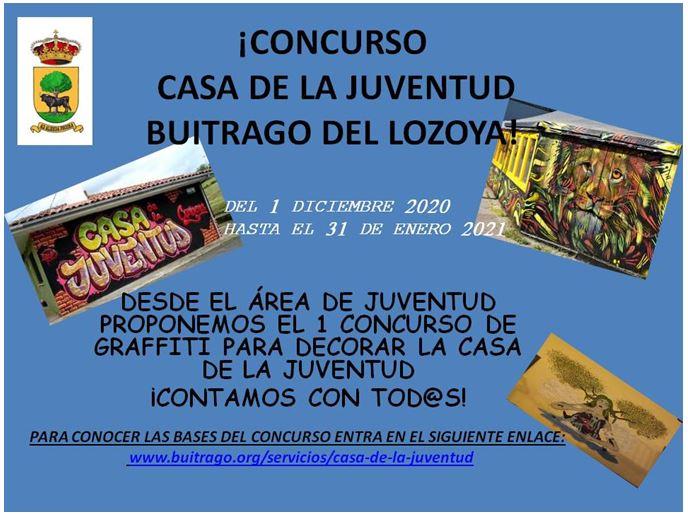Concurso Graffiti Casa de la Juventud Buitrago