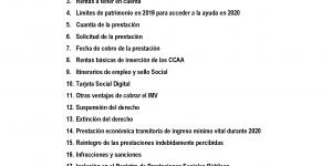 Guía sobre el Ingreso Mínimo Vital (IMV) elaborada por el Ayuntamiento de Buitrago del Lozoya