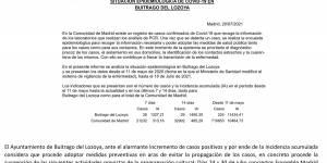 Bando de alcaldía referente a la situación epidemiológica del municipio