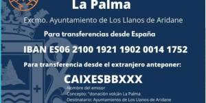 Colaboración con los vecinos de La Palma