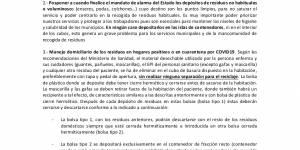 """Comunicado sobre """"Manipulación y depósito de residuos urbanos"""", dirigido a la población de los Municipios de la Sierra Norte y Pedrezuela, remitido por la Mancomunidad de Servicios Valle Norte del Lozoya"""
