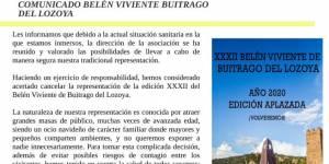 Suspendida la XXXII edición del Belén Viviente de Buitrago del Lozoya, por la situación sanitaria